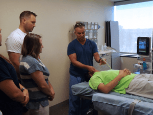 administering anesthesia